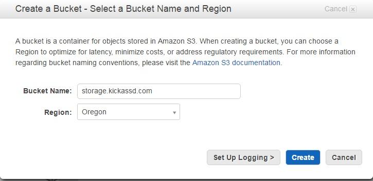 amazons3-create-bucket